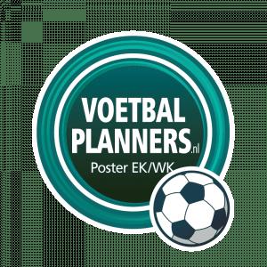 Voetbalplanners poster EK-WK